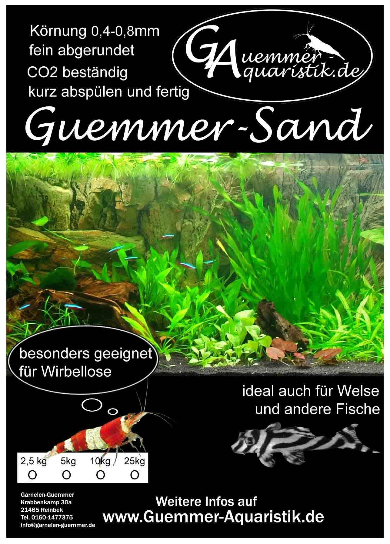 Guemmer-Sand Aquariensand kaufen